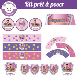 Pat Patrouille - Kit complet version fille