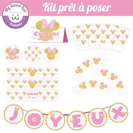Minnie  - Kit complet