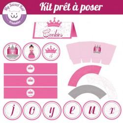 petite princesse - Kit complet