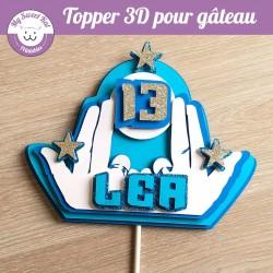 Topper 3D -  Jul
