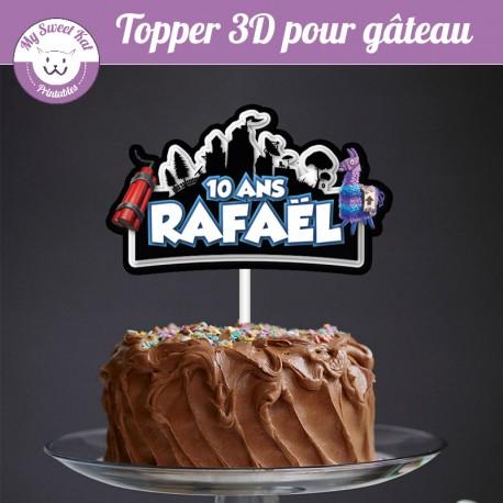 Topper 3D -  Fortnite